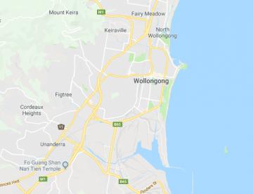 wollongong-map