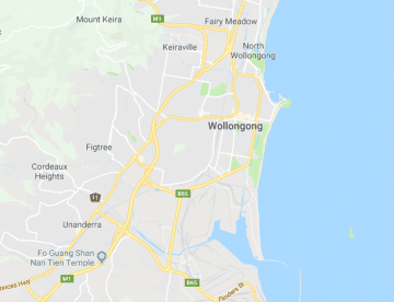 wollongong-map